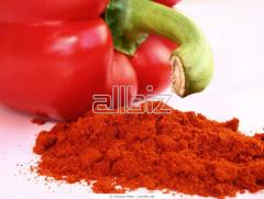 The paprika is ground