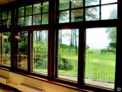 Алюминиево-деревянные окна Perla, итальянские