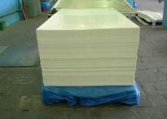 Полипропилен листовой 3-20мм, сварной пруток ПП;