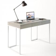 Компьютерный стол Fenster Моррис 2 Белый 73x120x60 столешница Дуб Сонома