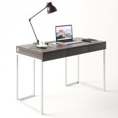 Компьютерный стол Fenster Моррис 2 Белый 73x120x60 столешница Венге