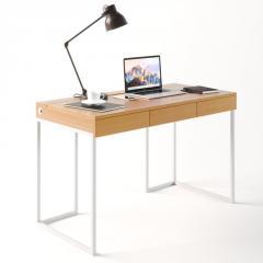 Компьютерный стол Fenster Моррис 2 Белый 73x120x60 столешница Бук