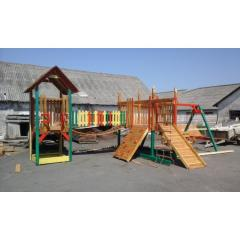 Детская площадка ВЕСЕЛКА из дерева