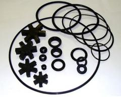 Rubber products for technical application,