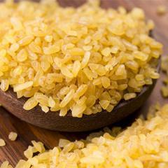 Sémola de trigo bulgur. En Ucrania / Exportar