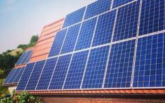Домашняя сетевая солнечная электростанция