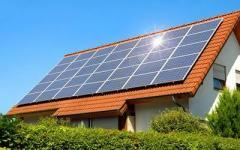 Домашняя сетевая солнечная электростанция 10 кВт