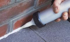 Sealants for construction and repair from the