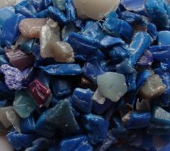 The polypropylene secondary granulated shredded