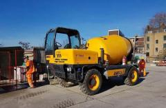 Concrete and grout mixers