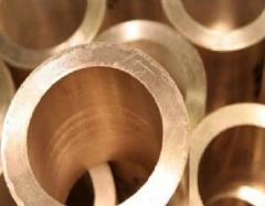 Труба бронзовая, диаметр наружный 80 мм