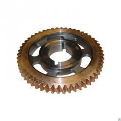 Венцы червячных колес различного типа