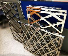 Grating, fences, metallic