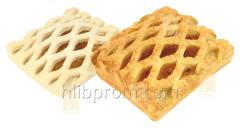 Puff pastry with apricot 0.08 kg frozen precooked