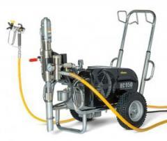 Окрасочный агрегат с гидропоршневым насосом WAGNER