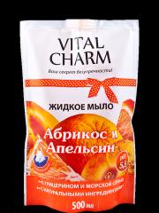 Крем-мыло с керамидами из соевых бобов «Абрикос и