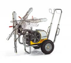 Безвоздушный аппарат для шпаклевки и покраски