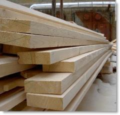 Доска обрезная строительная дл. 6,0 м