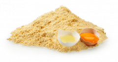 Dried egg yolk