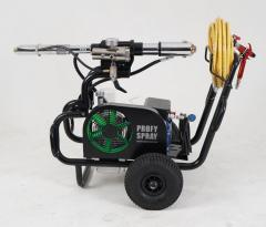 Low pressure paint units