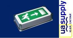 Эвакуационный знак с подсветкой OL4304