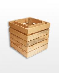 Set of boxes very deep natural