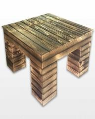 Table, wooden decorative
