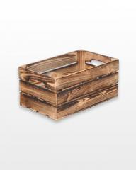 Ящик с ручками обожженный 50x30x23