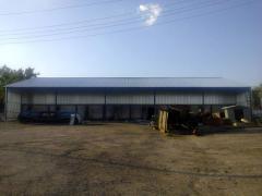 Hangar 17*32, hangar under the order, production,