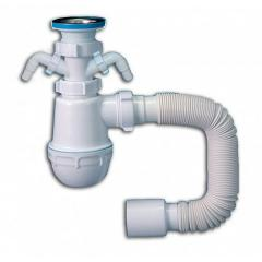 Santeh Plast MSM 03 a siphon on a sink with under