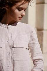 Рубашка женская  «VIOLA» , розовая