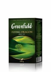 Чай зелений Greenfield Flying Dragon, 100 г та 25