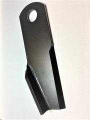 Нож измельчителя изогнутый левый New Holland 873