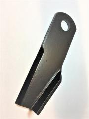 Нож измельчителя изогнутый правый New Holland 873