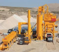 / Used mobile asphalt plant INTRAME UM 260 (2005,