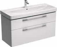 Шкафчик под умывальник 116,8*62,5*46,1 см,белый глянец(пол.) KOLO TRAFFIC (89439-000)