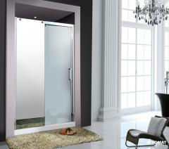 Душевая дверь в нишу Devit Soul FEN1972, реверсионная, soft-close с прозрачным стеклом