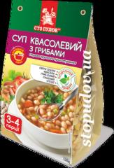 Суп фасолевый с грибами, 0,12 кг
