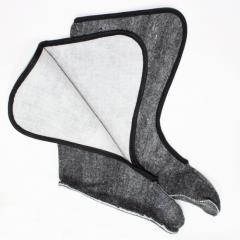 Зимние вставки в сапог высокие черные