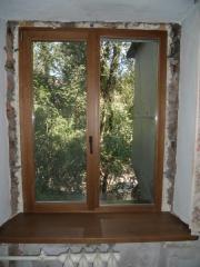 Window sills are oak