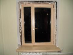 Window sills wooden