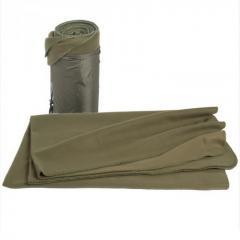 Одеяло флисовое в чехле Mil-Tec