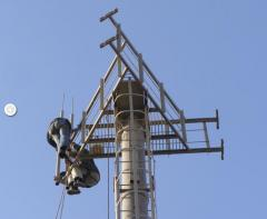 Antenna and mast construction, Ukraine