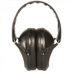 Наушники стрелковые защитные Mil-Tec Protective Earmuff черные