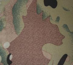Ткань Дюспо бондинг-флис мультикам с мембранным