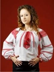 Вышитые рубашки,  Женская блузка - вышиванка...