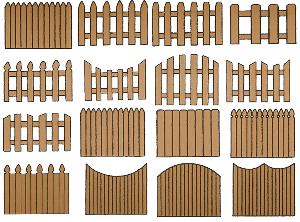 Ограда, забор от производителя