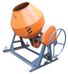 BS-250 concrete mixers; BS-300; BS-350; BS-500;