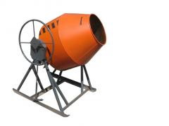 Concrete mixers geared BS-250; BS-300; BS-350;