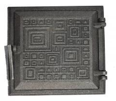 Дверка топочная на защелке ДТЗ-4 (250 х 265...